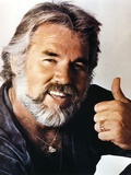 Kenny Rogers smiling Close Up Portrait