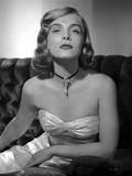 Lizabeth Scott Seated in Gown Classic Portrait