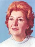 Maureen Stapleton Close-up in Blue Blouse Portrait
