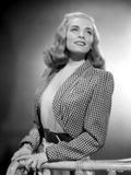 Lizabeth Scott Portrait wearing Checkered Sleeves