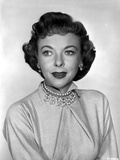 Ida Lupino Posed in Blouse with Necklace