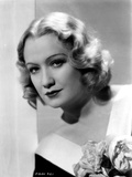 Miriam Hopkins on a V Neck Dress Portrait