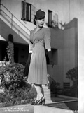 Martha Raye on a Dress standing and posed