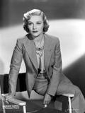 Madeleine Carroll Seated in Classic