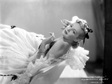 Madeleine Carroll Lying in White Gown Portrait
