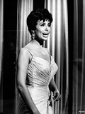 Lena Horne Candid Shot Portrait in Black and White