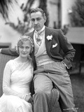 John Barrymore Seated on Arm Chair