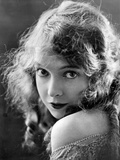 Lillian Gish on an Off-Shoulder Top with Chin on Shoulder Portrait