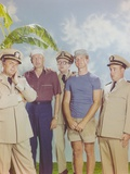 McHale's Navy Group Picture with Banan Background