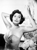Lena Horne posed with Arms Raised