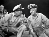 Mister Roberts Two Sailors Talking in Uniform