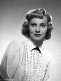 Lola Albright posed in a Long Sleeve Blouse