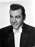 Mario Lanza in Black With White Background