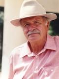 Noah Beery Jr Close Up Portrait with Cowboy Hat