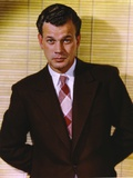 Joseph Cotten in Black Suit Portrait