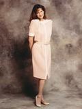 Lesley Warren Portrait in Orange Dress