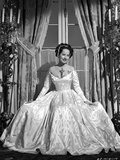 Merle Oberon on a Gown sitting