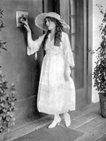 Mary Pickford on a Dress and hat