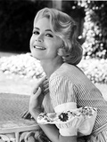 Sandra Dee wearing Classic Dress Portrait
