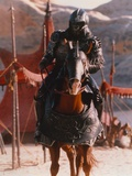 Michael Clarke Duncan Riding Horse in Armored Gorilla