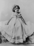Shirley Temple Posed in Gown Classic Portrait