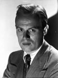 Richard Widmark Posed in Suit
