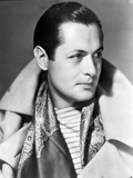 Robert Montgomery Poses in Popped Collar