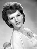 Mary Martin sitting and Leaning Portrait