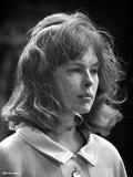 Sandy Dennis in White Dress Portrait