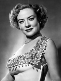 Portrait of Audrey Totter posed in Elegant Dress