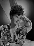 Susan Hayward wearing a Printed Blouse