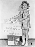 Shirley Temple Posed Dress Classic Portrait