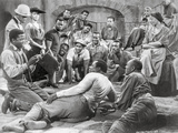 Porgy And Bess Portrait of People Gathered Together Excerpt from Film