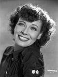 Penny Singleton smiling wearing Black Blouse Close Up Portrait