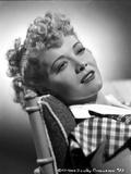 Penny Singleton Reclining in Classic