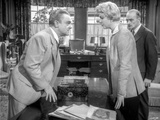 Love Me Or Leave Me Doris Day and James Cagney Talking in Black and White