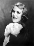 Ruth Roland wearing Furry Coat Portrait
