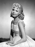 Sandra Dee in White Gown Portrait