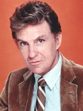 Robert Stack Posed in Leather Suit Portrait