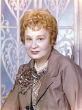 Shirley Booth Posed in Suit