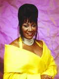 Patti LaBelle Posed in Yellow Gown
