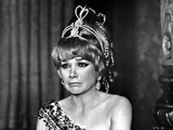 Shirley MacLaine Frowning in Dress