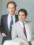 Simon & Garfunkel wearing a Coat and Tie in a Portrait
