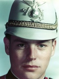 Robert Wagner Portrait in White Cap