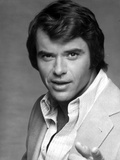 Robert Urich in White Polo With With Black and White Background