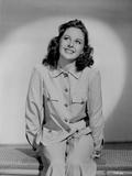 Susan Hayward wearing a Long Sleeve Polo