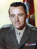 Robert Vaughn in Army Uniform