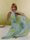 Sandy Duncan Posed in polka dot Dress