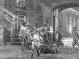 Porgy And Bess Man Riding Horse-drawn Vehicle Scene Excerpt from Film
