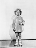 Shirley Temple wearing a Short Tunic Dress in a Classic Portrait